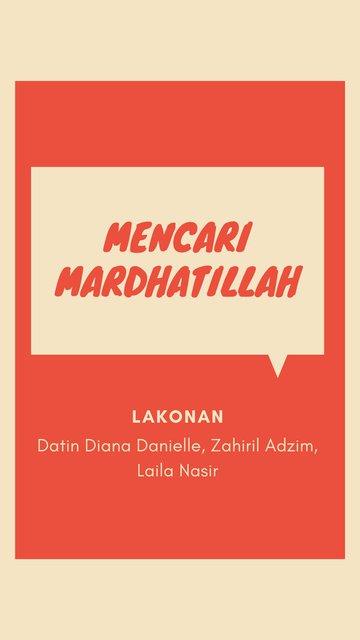 Mencari Mardhatillah